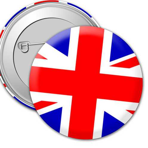 Значок Английский