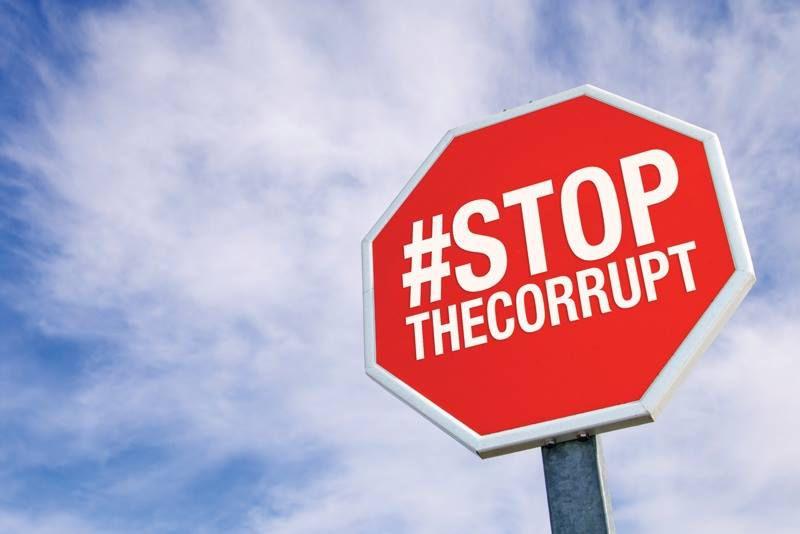 Знак коррупции