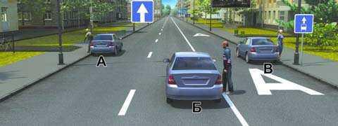 Кто из водителей правильно остановился для высадки пассажиров?