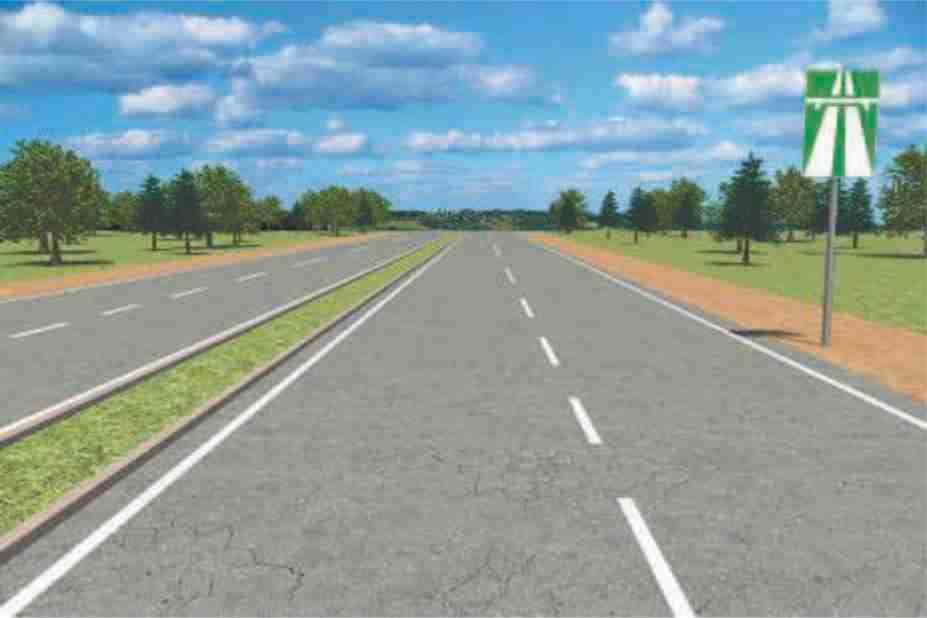 Автомагистраль - дорога, специально запроектированная и построенная (или реконструированная)