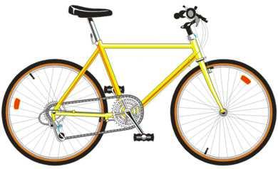 велосипед - транспортное средство, имеющее два колеса или более (кроме кресло-колясок для инвалидов)