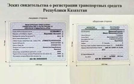 Свидетельство о государственной регистрации РК