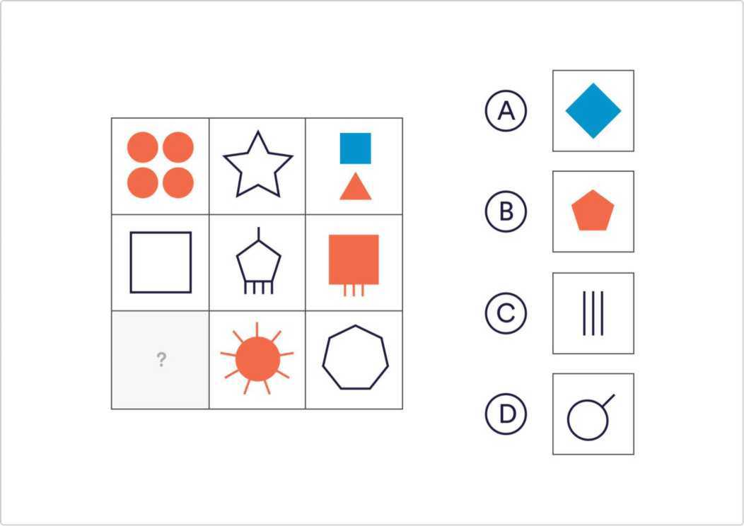 Тест на логику 01 вопрос 5