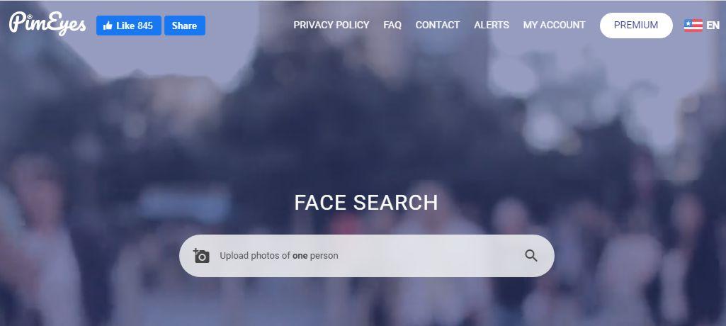 """Сервис """"Pimeyes"""" заточенный для поиска людей по фото"""